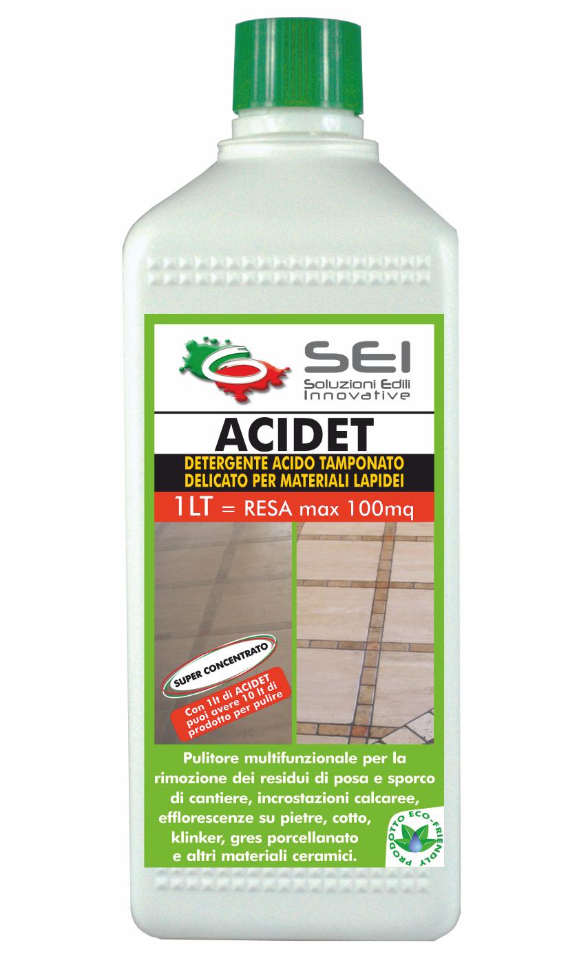 Detergente Per Cotto Esterno sei | acidet detergente acido tamponato delicato per